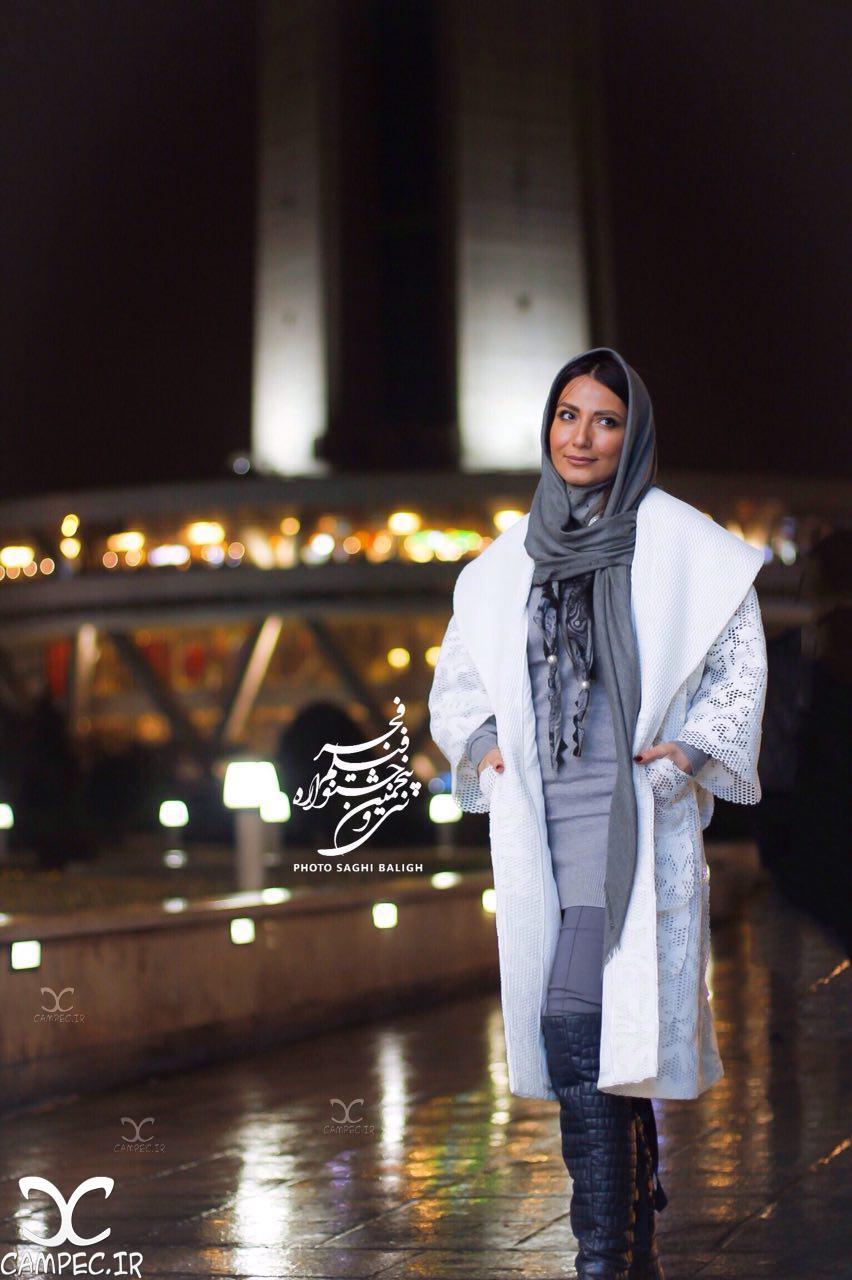 سمیرا حسن پور در افتتاحیه جشنواره 35 فیلم فجر