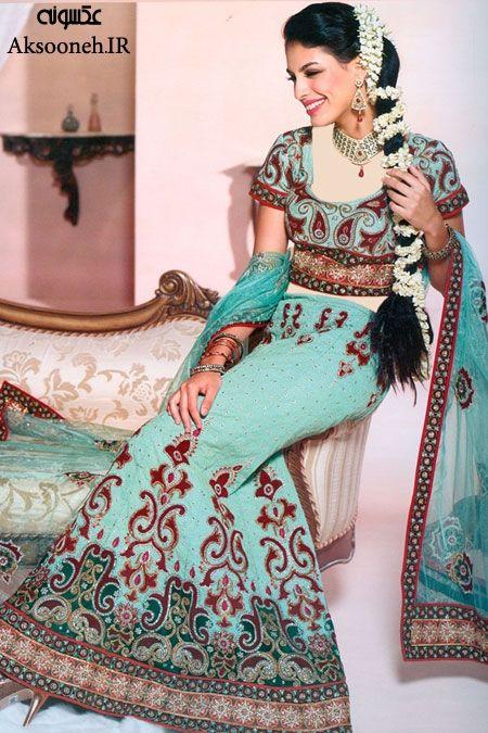 زیباترین و شیک ترین عکس های مدل لباس هندی | WwW.Aksooneh.IR