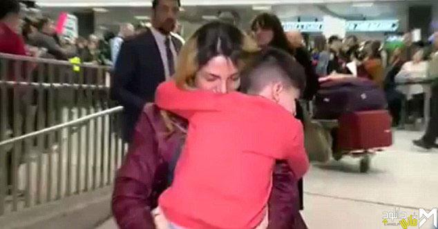 بازداشت کودک ۵ ساله ایرانی در فرودگاه ویرجینیا + فیلم و تصاویر