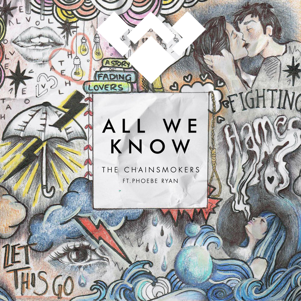 دانلود اهنگ The Chainsmokers به نام All We Know ft Phoebe Ryan