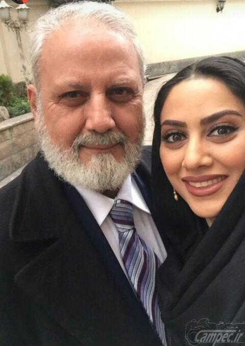مونا فرجاد بازیگر سینما و تلوزیون