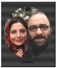 عکس سولماز غنی و همسرش نوروز 96
