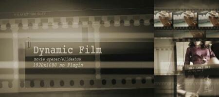 دانلود رایگان پروژه افترافکت استارت فیلم داینامیک