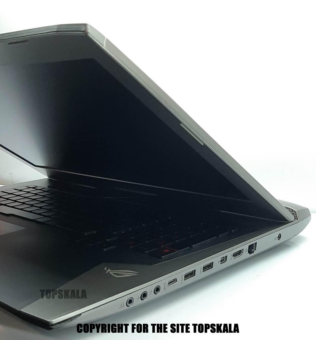 لپ تاپ استوک ایسوس مدل ASUS ROG G752VY با مشخصات i7-6gen-16GB-256GB-SSD-1TB-4GB-NVIDIA-GTX-980M