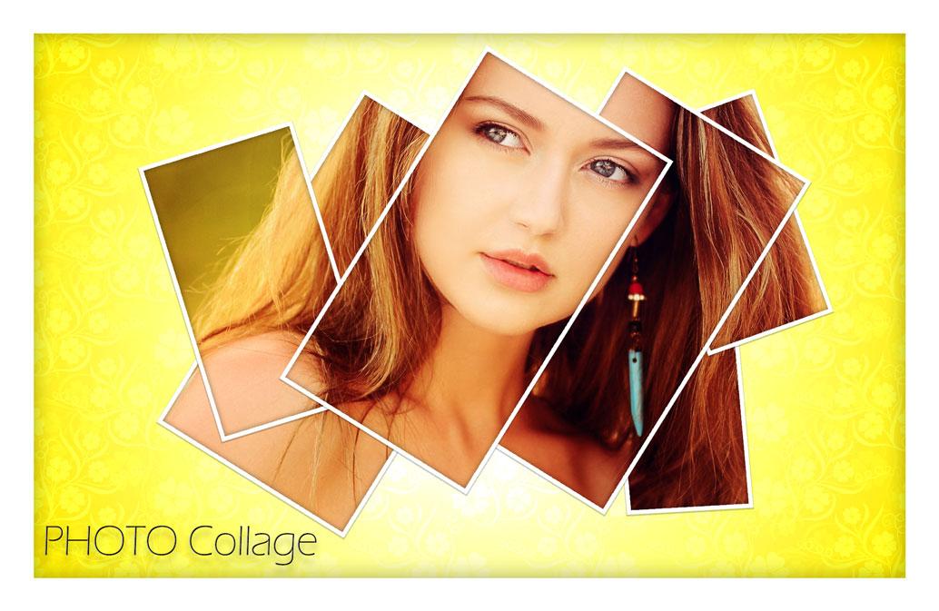 فایل لایه باز فریم عکس | Photo Collage Templates