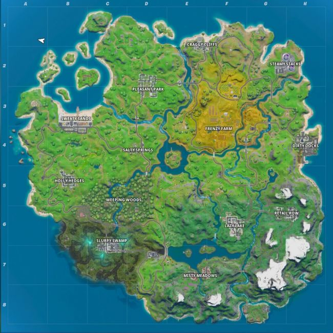 Fortnite Chapter 2 map: Every place of interest on the new island