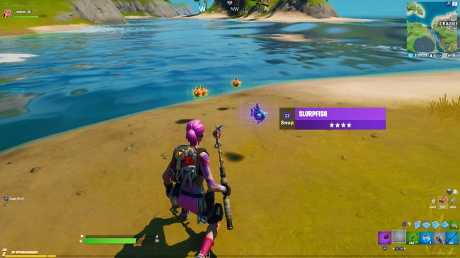Fortnite mythic goldfish: What is it and how to get one
