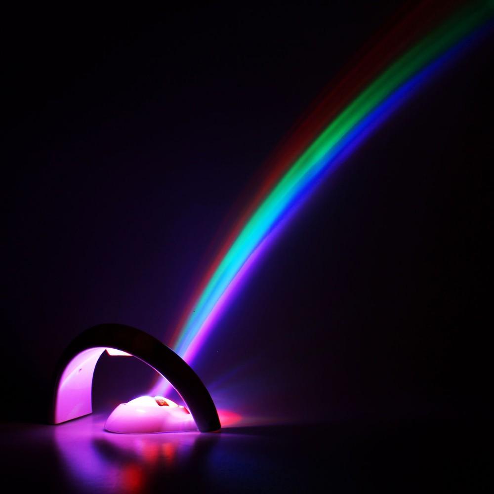 چراغ خواب رنگین کمان کودک