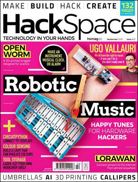DOWNLOAD HackSpace MAgazine – September 2019
