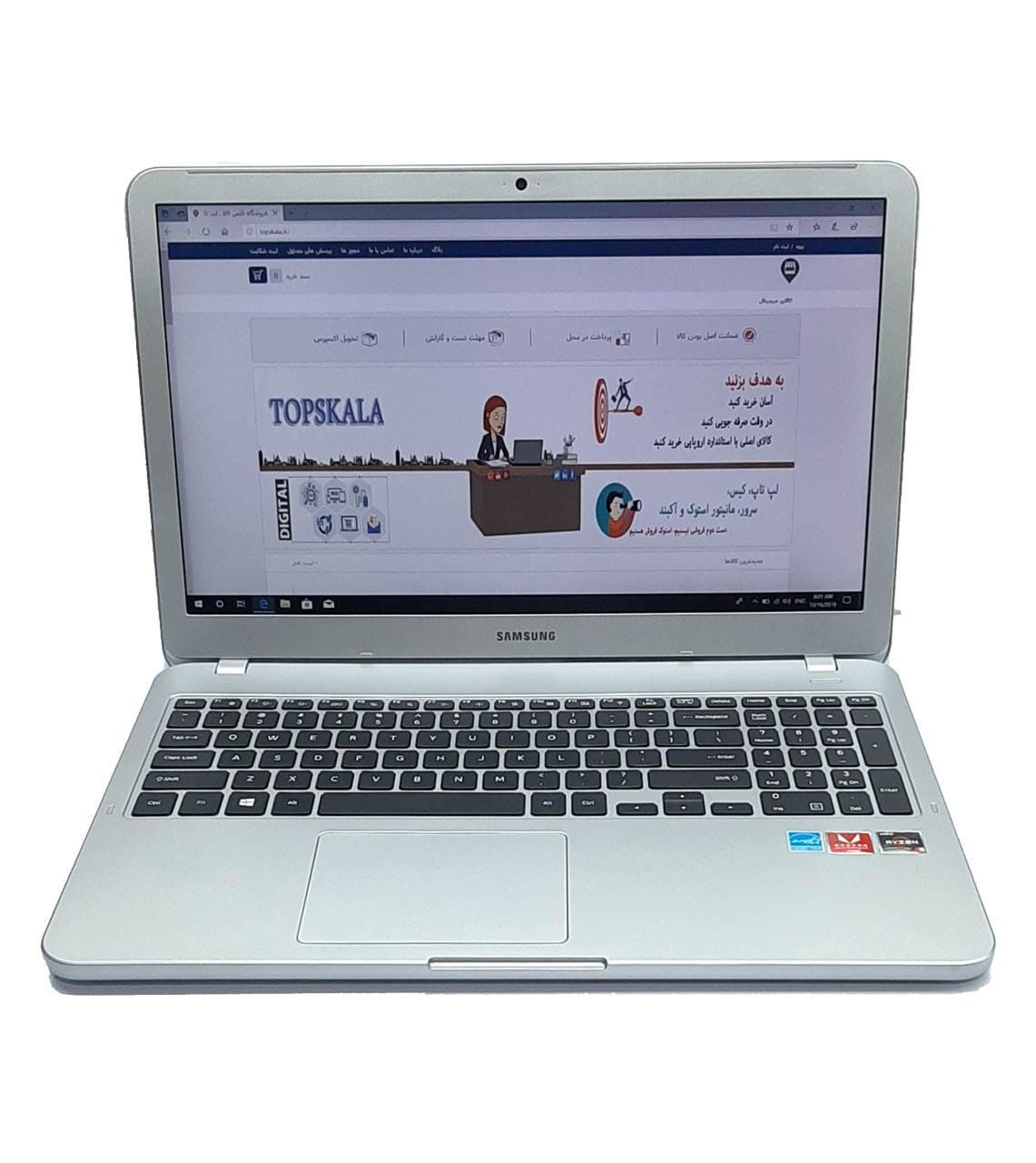 لپ تاپ استوک سامسونگ مدل Samsung 550XTA-550XTZ