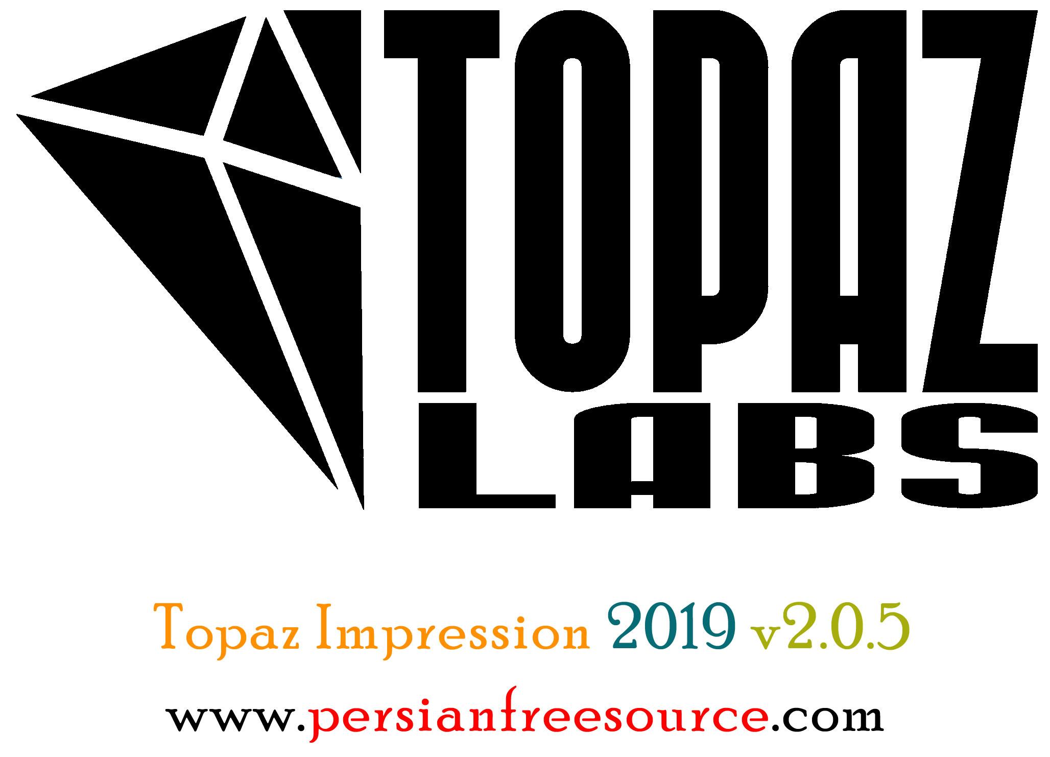 دانلود نرم افزار تبدیل عکس به نقاشی Topaz Impression 2019 v2.0.5