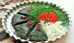 طرز تهیه کوکو سبزی بسیار خوشمزه