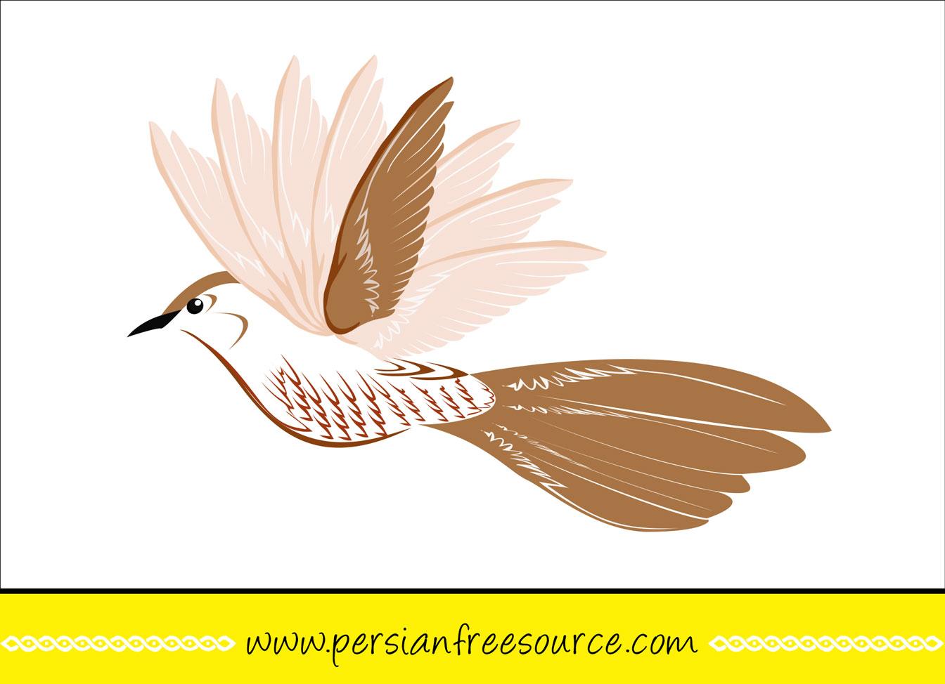دانلود وکتور پرنده