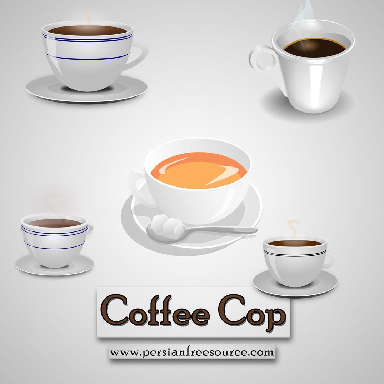 دانلود فایل لایه باز فنجان قهوه | Coffee Cup