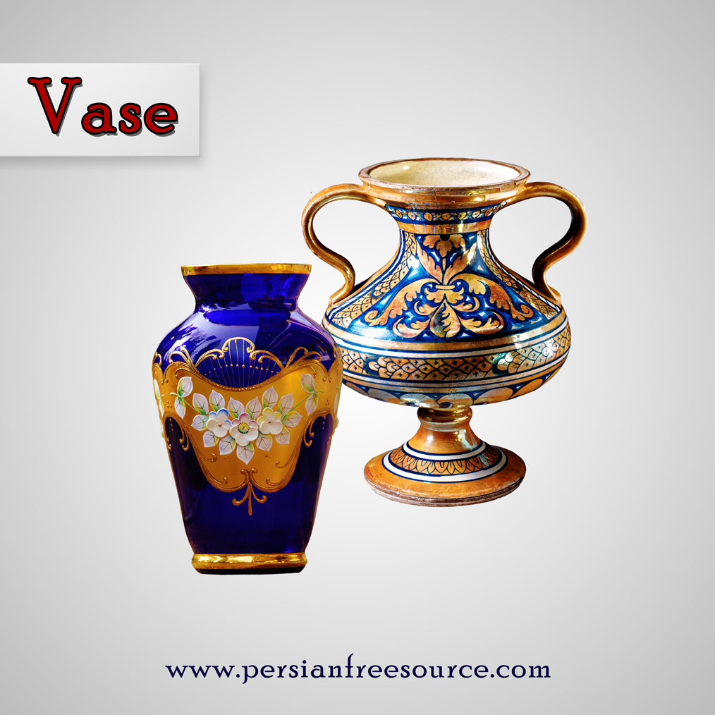 دانلود فایل لایه باز کوزه  Vase Transparent Background
