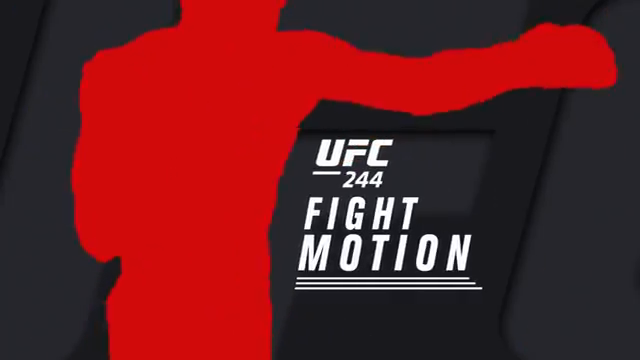 مبارزات به صورت اهسته شده: UFC 244 Fight Motion