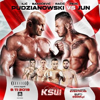 دانلود رویداد ام ام ای | KSW 51: Pudzianowski vs. Jun+تک مبارزه