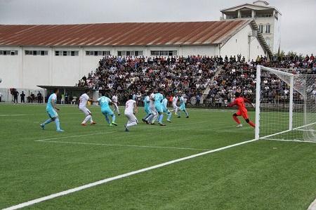 غلبه تیم فوتبال شهرداری آستارا بر اروند خرمشهر