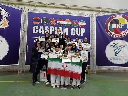 کسب 34 مدال توسط کاراتهکاهای ایلام در مسابقات بین المللی آستارا