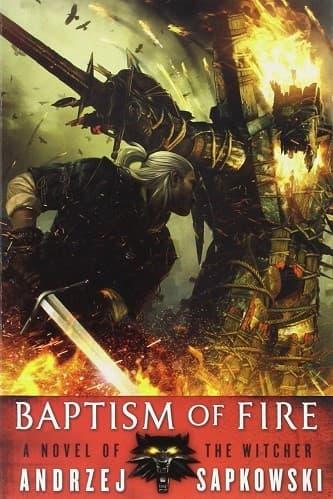 Witcher baptism of fire دانلود مجموعه کتابهای ویچر
