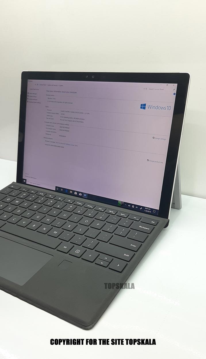 لپ تاپ استوک مایکروسافت مدل Microsoft Surface Pro 4 با مشخصات i7-6th-16GB-512GB-SSD-2GB-intel-HD-4600laptop-stock-microsoft-model-surface-pro-4-i7-16GB-512GB-SSD-2GB-intel-HD-4600