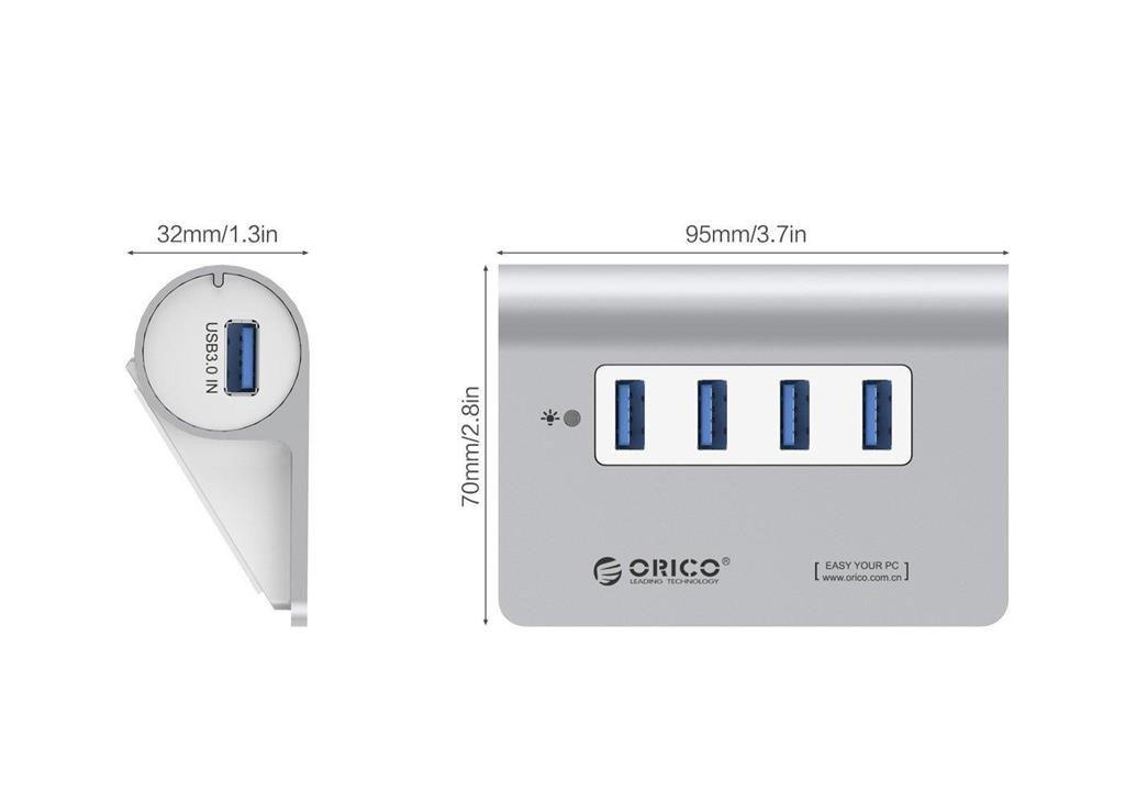 orico m3h4 usb 3.0 hub Orico M3H4 USB 3.0 Hub Orico M3H4 USB 3 0 Hub