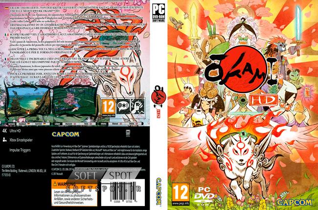 Okami HD Cover