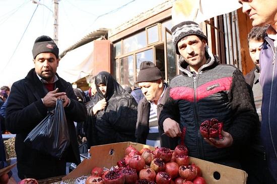 بازار شب یلدا در تبریز
