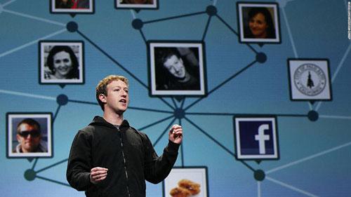 سخنرانی مارک زاکربرگ، مدیرعامل فیسبوک، در کنفرانس توسعهدهندگان F8 این شرکت در سال ۲۰۱۰