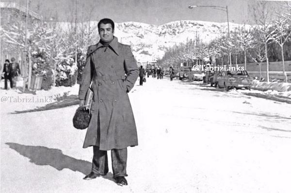 برف تبریز قدیم