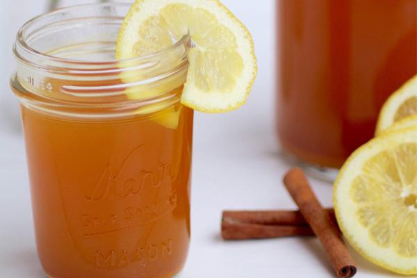 دمنوش لاغری لیمو و زنجبیل