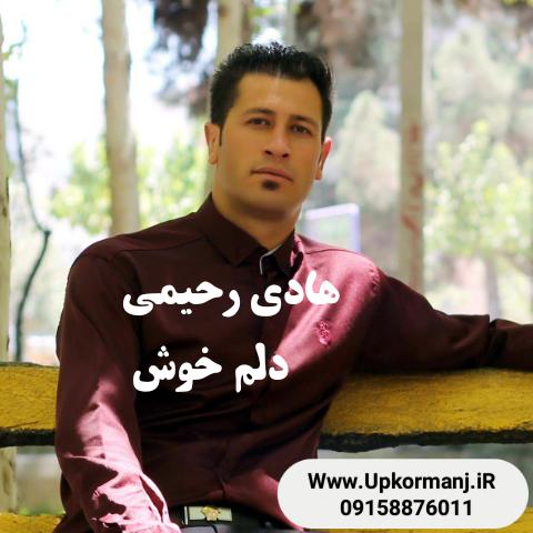 دانلود آهنگ جدید هادی رحیمی به نام دلم خوش بود