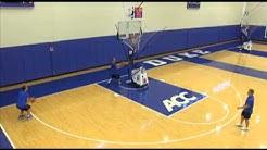 Unreal Duke drill using Basketball Shooting Gun by Shoot-A-Way