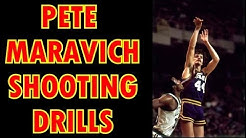Pete Maravich Basketball Shooting Drills DVD Preview
