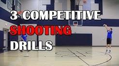 Basketball Drills - 3 Competitive Shooting Drills