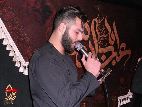 مداحی کربلائی طاها نجفی در حسینیه شهیدمحمدعلی دولت آبادی