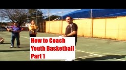 How to Coach Youth Basketball - Basketball Drills for Beginners Part 1 - Ozswoosh