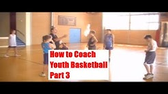 How to Coach Youth Basketball - Basketball Drills for Beginners Part 3 - Ozswoosh