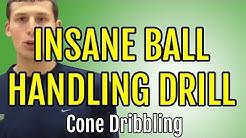 Basketball Ball Handling Drills For Better Ball Handling - Basketball Cone Dribbling Drills
