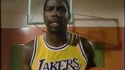 Magic Johnson 1989 Put Magic In Your Game Instructional Basketball Drills Kids Showtime Lakers