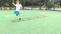 Ladder drills for kids ages 5+