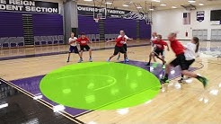 Youth Basketball Box Out Rebounding Drill