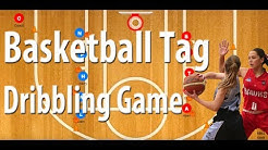 Dribble Tag Game Basketball Dribbling Drill - Fun Basketball Games For Kids