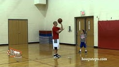 Hoop Steps - How to teach basketball layups to kids