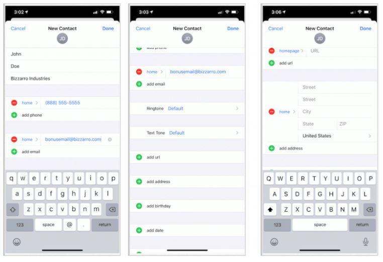 راهنمای کامل برای مدیریت Contacts در آیفون