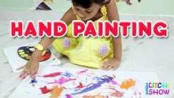 Kids Finger Painting - Finger Painting For Toddlers