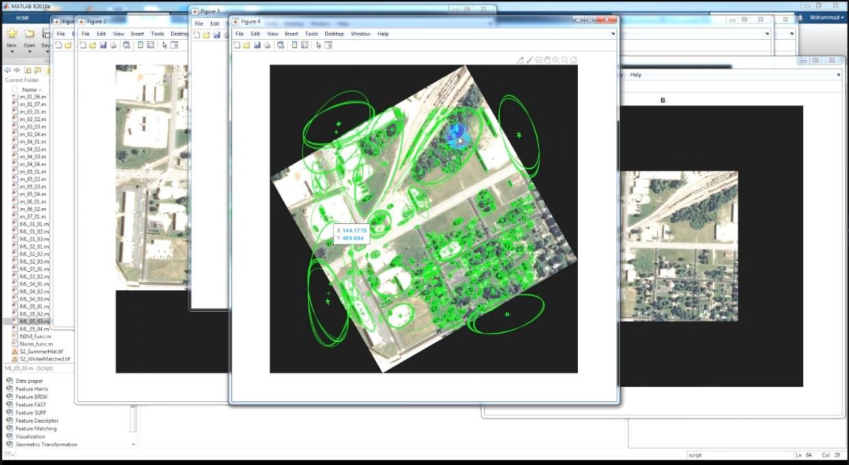 استخراج ویژگی های ساختاری از تصویر