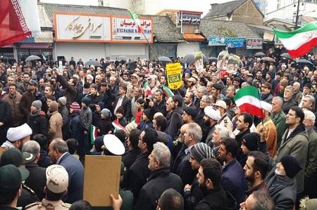 آمادگی مردم و مسئولان آستارا برای راهپیمایی ۲۲ بهمن