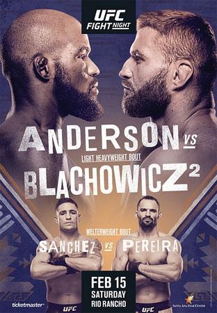 دانلود فایت نایت  167   UFC Fight Night: Anderson vs. Błachowicz 2