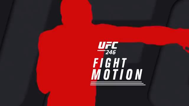 مبارزات به صورت اهسته شده: UFC 246 Fight Motion